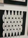 Herringbone Marmormosaik-Fliese für Küche-Wand-Dekoration