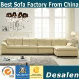 Preço de fábrica novo L sofá da mobília da sala de visitas da forma (889)