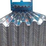 Il tetto della costruzione ha ondulato la lamiera di acciaio/zinco ricoperti coprendo il metallo/metallo ondulato galvanizzato della lamiera di acciaio