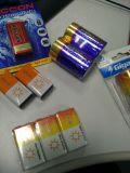 Superhochleistungskohlenstoff Znic 6f22 9V Rauch-Warnungs-Batterie