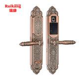 Замок двери карточки Passward IC фингерпринта обеспеченностью высокого качества электронный толковейший