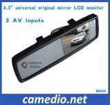 Carro Original Universal Digital 4.3inch Monitor do espelho para o espelho M430