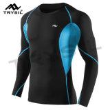 Hemd-Sport-Kleidungs-Komprimierung-Hemd der Männer langes