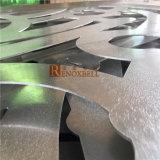 По окончании мельницы перфорированный алюминиевый лист После полировки для строительного материала