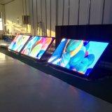 Impermeable al aire libre servicio frontal pantalla LED de P5 de Billboard anuncio comercial