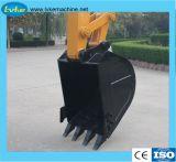 De het hydraulische Graafwerktuig/Graver van het Wiel met de Capaciteit van de Emmer 0.5-1.0m3