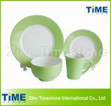 La vaisselle en céramique couleur Two-Tone vaisselle