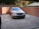 Sistema de giro do carro do estacionamento para Garare e sala de exposições