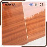 MDF ULTRAVIOLETA de alta densidad de la tarjeta del papel colorido de la melamina de 18m m para adornar