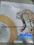 Fuerte reducción de 350 X2.5X marca HSS32mm M35 Hoja de sierra circular para cortar el tubo de acero inoxidable.