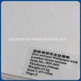 Papel de parede de couro solvente da textura da grão do papel de parede 107cm da alta qualidade Eco