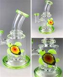 Fumo di vetro del tubo di acqua della decorazione variopinta del Tortoise con il prezzo di fabbrica