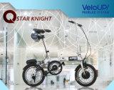 ブラシレスモーターによって隠される李イオン電池とのQualisportsの電気バイク24V 180W Foldable Ebike