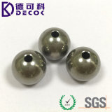Bola de acero 304 con la esfera del metal del orificio con la cuerda de rosca