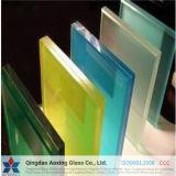 Ясно/подкрашивал прокатанное PVB защитное стекло с нормальными размерами
