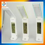 Alto brillo de la pantalla LCD luz del escritorio, lámpara de escritorio plegable del LED