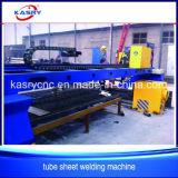 Plasma del CNC de China y máquina de oxicorte para la placa del tubo