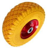 300-4PU泡の車輪