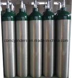 Cilindros de oxigênio de alumínio médicos 5L