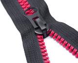 Zipper de Vislon com fita colorimétrica/qualidade superior