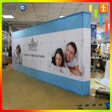 Алюминиево хлопните вверх индикация печатание стены ткани знамени