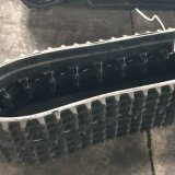 Las orugas de caucho de la excavadora (WD200X72X27) para la maquinaria de construcción