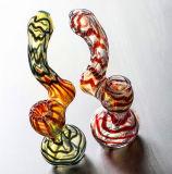 Barboteur de fumage en verre fabriqué à la main de l'eau de barboteurs avec la qualité