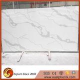 台所Worktopsのための中国のCalacattaの白い水晶石の平板