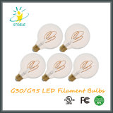 G30/G95 5W Dimmable LED Heizfaden-Birnen-Retro Art
