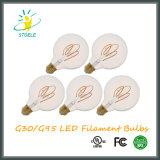 G30 / G95 5W Dimmable LED bombilla de filamento estilo retro