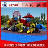 De promotie Dia HD16-071A van Treehouse van de Speelplaats van Jonge geitjes Plastic Openlucht