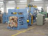 Baler гидровлического полноавтоматического картона неныжной бумаги горизонтальный для рециркулировать машину