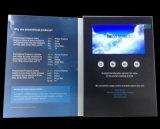Pantalla LCD de impresión personalizadas Folleto Vídeo
