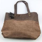 Il modo della borsa della signora Leaisure PU del Brown insacca il fornitore