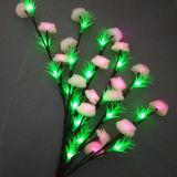 Decoração de flores de LED para iluminação de Mercado