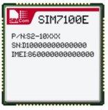 Module de Tdd 4G de LECTEUR DE DISQUETTES de SIM7100e Lte avec SMD ou mini surface adjacente de Pcie