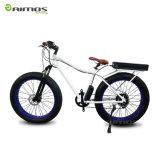 26 '' 4.0 Bicicleta de montaña eléctrica del neumático de la grasa con la horquilla de suspensión delantera
