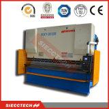 Travão de pressão hidráulica CNC para curvatura em chapa metálica de aço inoxidável