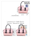 Bolso de totalizador de cuero de las señoras de la PU del diseñador de moda de la fábrica de Guangzhou