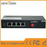 Interruptor de rede de fibra de acesso de porta 5 Gigabit não gerenciado