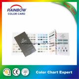 Pintura de pared Sistema Gráfico de color de Pantone