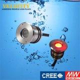 DC24V RoHS 승인되는 스테인리스 RGB 통제 크리 사람 LED 수영풀 빛