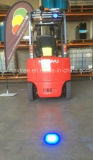Waterproof and Dustproof Diecast Aluminium Housing10W Forklift Blue Safety Light