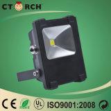 Ctorch COB 10W do Holofote da Praça da luz exterior