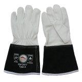 Кевлар перчатки заварки TIG MIG кожаный