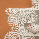 Neue Entwurfs-Netzkabel-Polyester-Häkelarbeit-Spitze