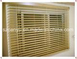 Finestra di vetro composita di legno di alluminio di vendita calda doppia con l'otturatore