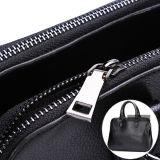 Sacchetto di cuoio della chiusura lampo del doppio del sacchetto di spalla dell'unità di elaborazione del sacchetto di mano delle donne (BDMC110)