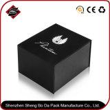 Logotipo personalizado efecto metalizado Papel de regalo Caja de almacenamiento para Cosmética
