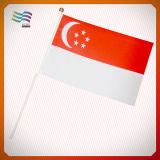Флаг национальной руки полиэфира развевая для подарков (HYHF-AF054)